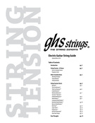 GHS Bass String Tension Guide